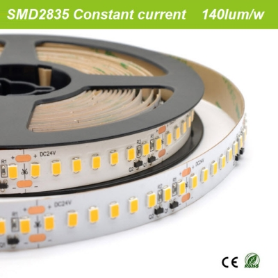 140lum/w constant current SMD2835 strip